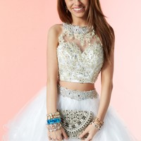 Alyce 3647 Beaded Lace Two Piece Dress
