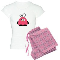 Funky Pinky Bird Pajamas> Cartoon> abrakadabra