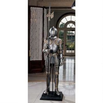 16th-Century Italian Armor with Halberd - CL3423 - Design Toscano