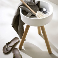 Fonte Stool with basin by Rexa Design