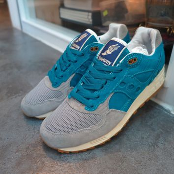 BC KUYOU Bodega X Saucony Elite Shadow 5000  Reissue  - Teal/Grey #S70045-2