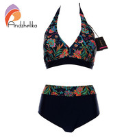 Andzhelika Bikins Women 2017 New Plus Size Swimwear