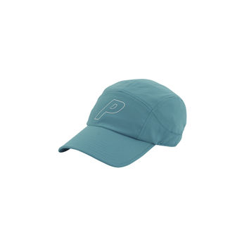 Nylon 7 Panel Cap Teal | Palace Skateboards