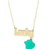 Care Bears™ Lucky Nameplate Necklace