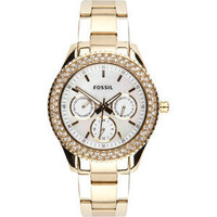 FOSSIL Stella Plated Stainless Steel Watch 202603442 | Watches | Tillys.com