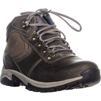 Timberland Mt Maddsen Lace-Up Hiking Boots, Medium Gray, 5.5 US