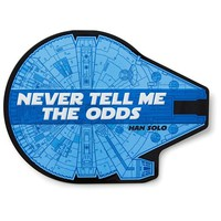 Millennium Falcon Metal Sign