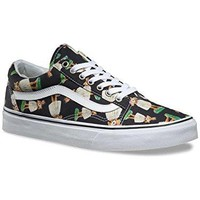 Vans Old Skool (Indo Pacific) Black/True White Men's 12