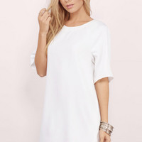 Lex Oversized Tee Dress $36