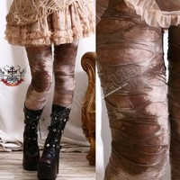 EGYPT MUMMY Decay Ragged Hole Legging Mud ROCK CANYON Steampunk LARP S M L XL
