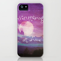 EVERYTHING AT ONCE iPhone Case by M✿nika  Strigel | Society6