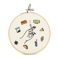 Stoner Girl Kit Embroidery