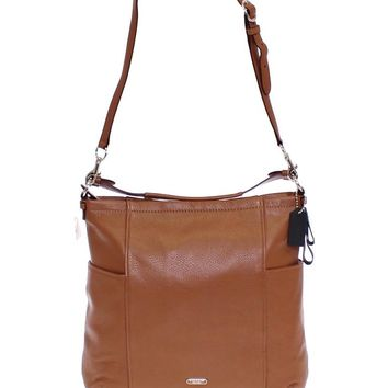 Brown Park Purse Saddle Leather Hobo Bag