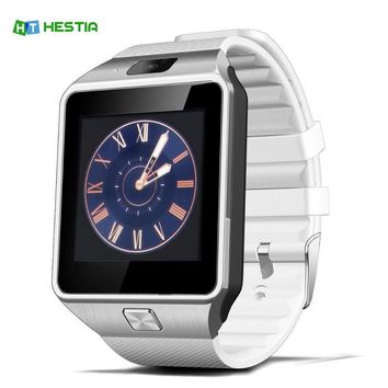 HESTIA DZ09 Smart Watch With Camera Bluetooth WristWatch SIM Card Smartwatch For Ios Android Phones Support Multi languages