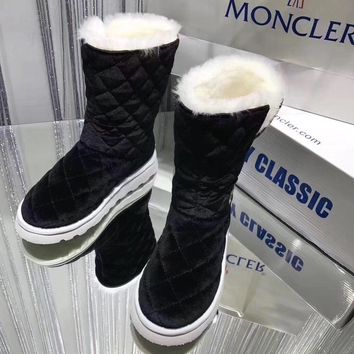 Moncler Women Casual Flats Shoes Boots 1