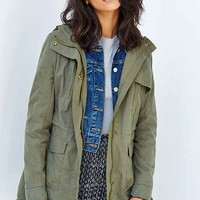 Members Only Fleece-Lined Anorak Jacket-