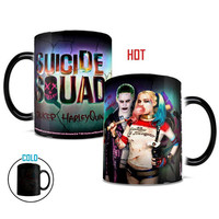 Suicide Squad Harley And Joker Morphing Mug