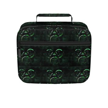 GFY Green and Black Lunch Box
