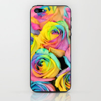Rainbowlicious iPhone & iPod Skin by Lisa Argyropoulos