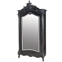 Black French Armoire