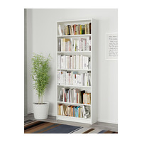 BILLY Bookcase White 80x28x202 cm - IKEA