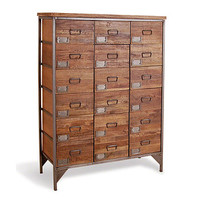 Apothecary Chest With 18 Drawers