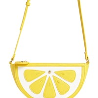 Lemon Wedge Crossbody Bag