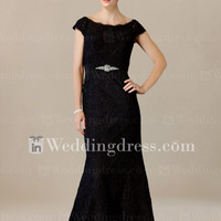 Trumpet Lace Mother of the Bride Dress MO242