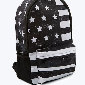American Flag Backpack
