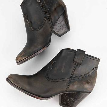 Frye Reina Stone Wash Ankle Boot- Black
