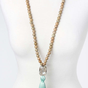 The Hannah Necklace - Stone