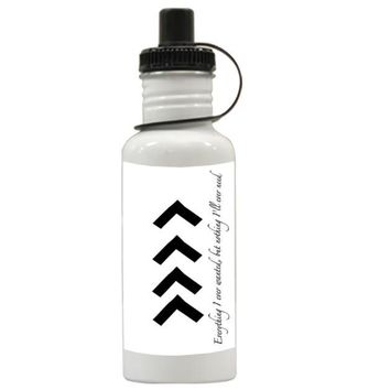 Gift Water Bottles | Liam One Direction Arm Tattoos Quotes Aluminum Water Bottles