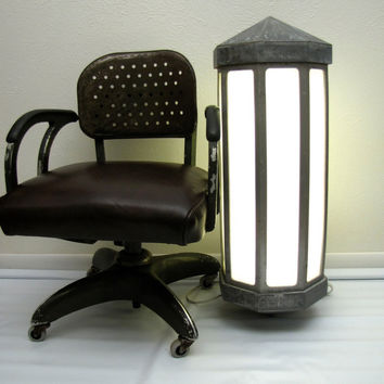 Monumental Art Deco Architectural Lighting by AustinModern on Etsy