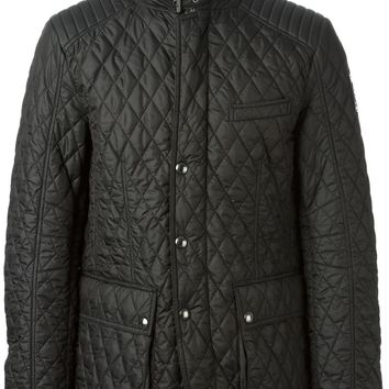 Belstaff quilted zipped jacket