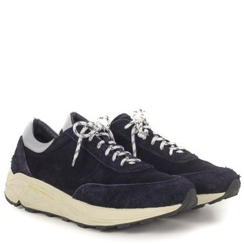 Our Legacy Blue Suede Sneakers