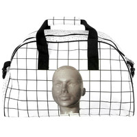 GRID 3D HEAD DUFFLE BAG