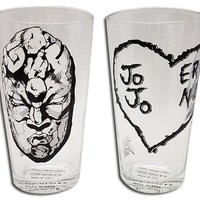 JoJo's Bizarre Adventure Pint Glass Set