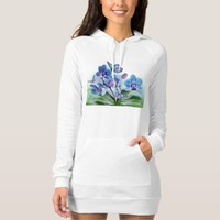 Personalized/Hoodie Dress/Butterflies and Orchids T Shirts