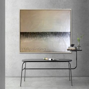 Abstract painting acrylic landscape on canvas Wall Art Pictures for living room Home Decor quadros caudros decracion wall decor hand painted