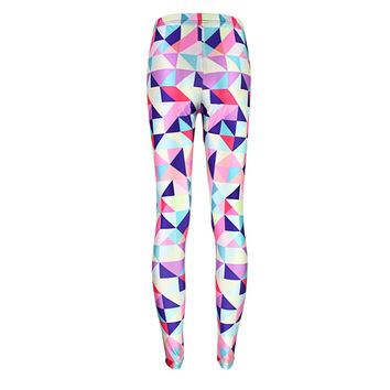 Geometric Mosaic Leggings