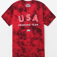 Port USA Drinking Team Washed T-Shirt at PacSun.com