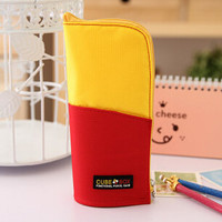 Cube Box Standing Pencil Case Holder