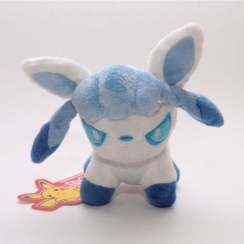ONETOW Cute Cartoon Pokemon Glaceon Plush Toys Day-First?