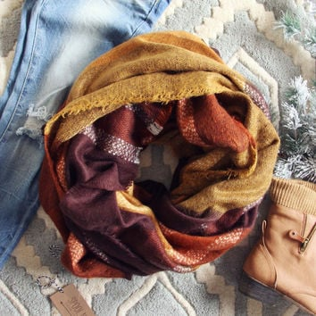 Bundled Tamarack Scarf