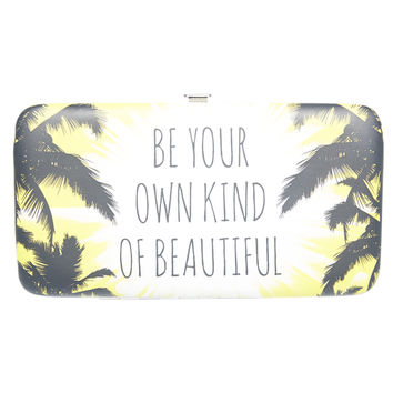 Be Beautiful Hinged Wallet | Wet Seal