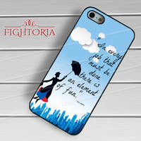 Quotes Mary Poppins - zzZzz for  iPhone 4/4S/5/5S/5C/6/6+s,Samsung S3/S4/S5/S6 Regular/S6 Edge,Samsung Note 3/4
