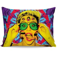 Miley Cyrus Psychedelic Pillow Case