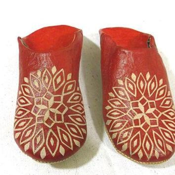 LNFNO slippers for women, all red leather, shoes, winter, Ugg Fuzzy slippers, for women, Boo