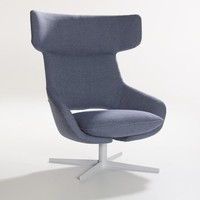 Kalm Swivel Lounge Chair by Artifort
