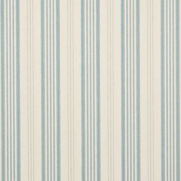 Mulberry Wallpaper FG067.H120 Narrow Ticking Stripe Powder Blue